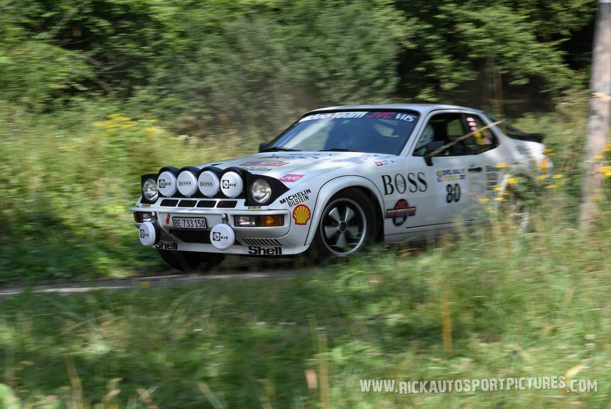 Legend Porsche 924 Turbo Eifel Rallye 2017