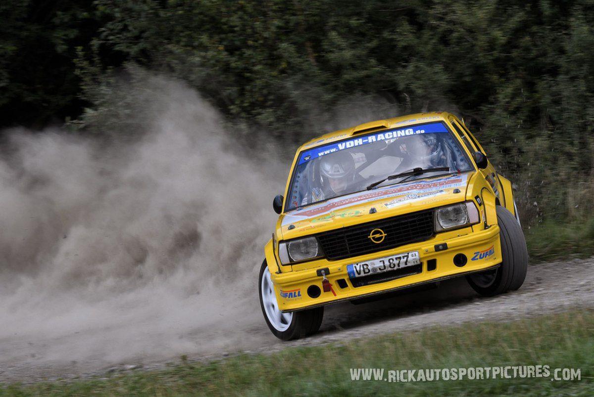 Legend Opel Ascona B Eifel Rallye 2017