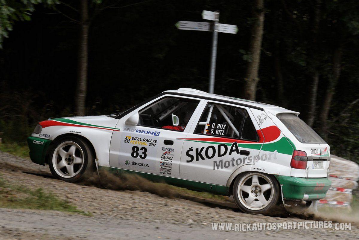 Legend Skoda Felicia Kit Car Eifel Rallye 2017