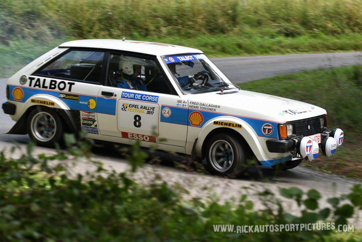 Legend Talbot Sunbeam Lotus Eifel Rallye 2017