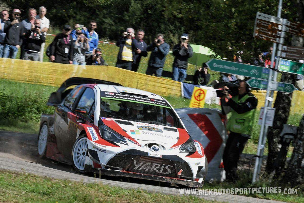 Jari-Matti Latvala Deutschland Rally 2017