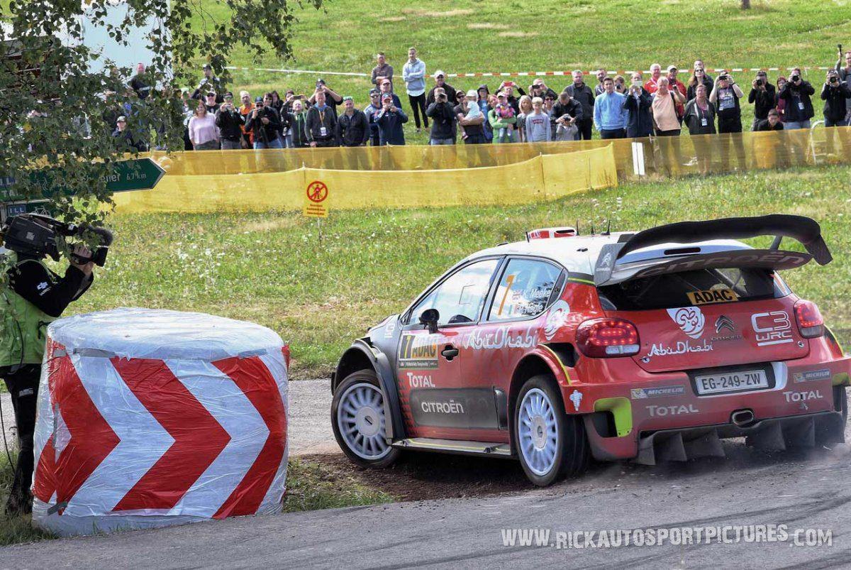 Kris Meeke Deutschland Rally 2017
