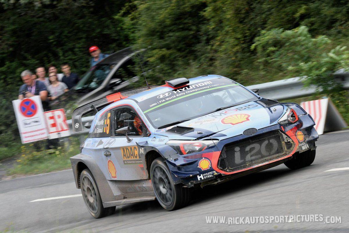 Thierry Neuville Deutschland Rally 2017