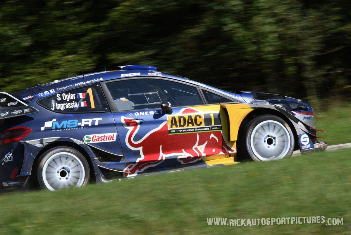Sébastien Ogier Deutschland Rally 2017