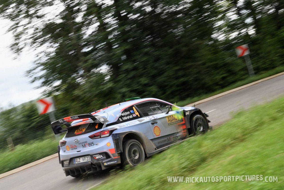 Hayden Paddon Deutschland Rally 2017