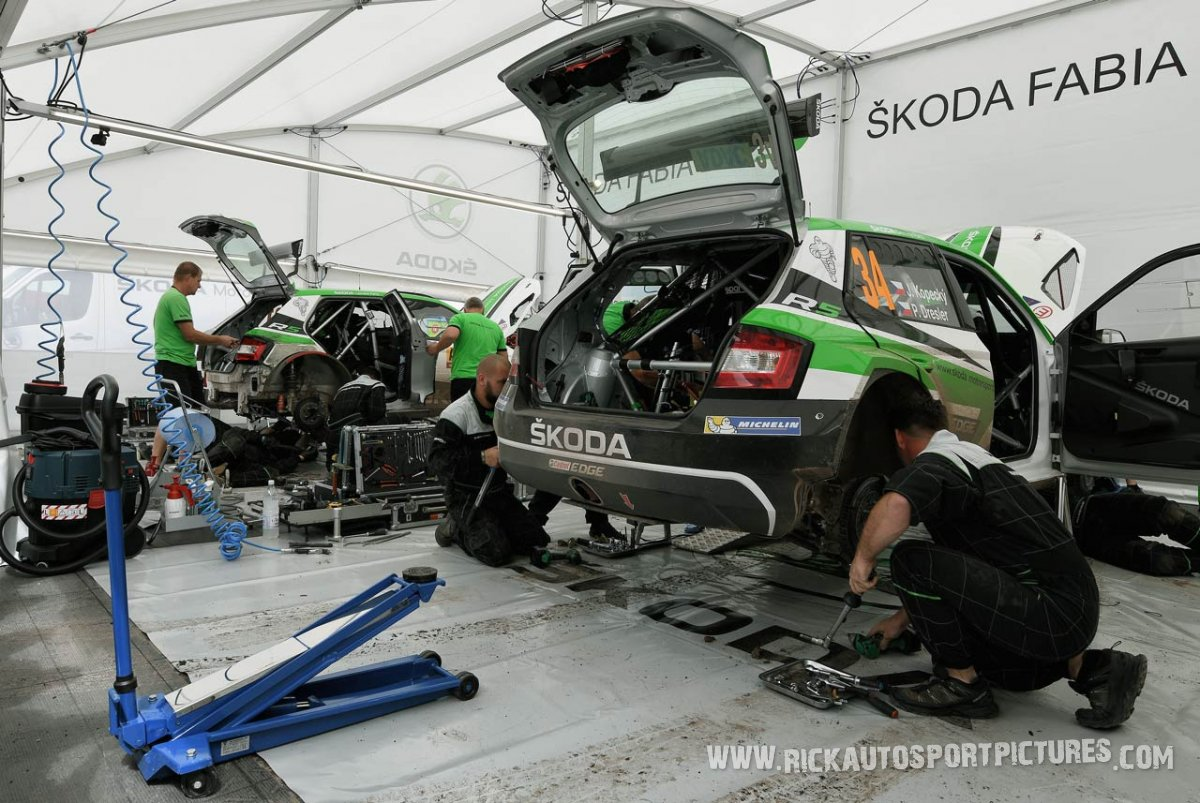 Skoda Motorsport Deutschland Rally 2017