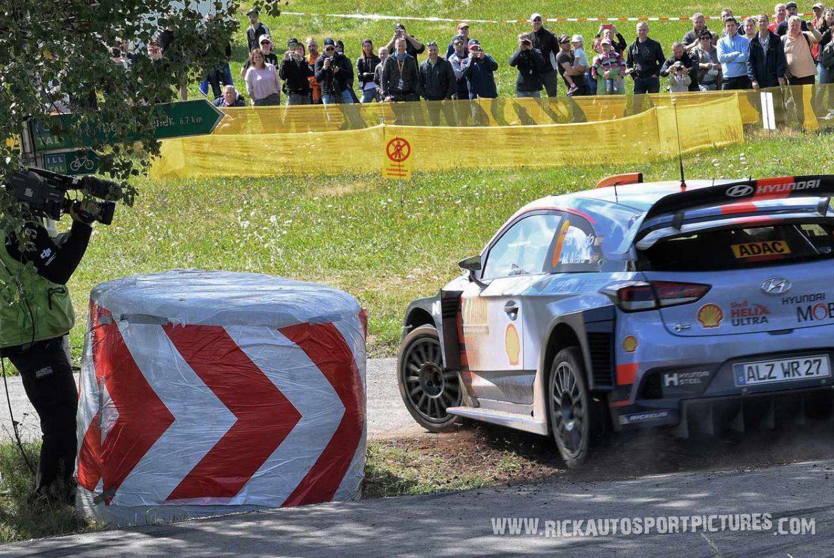 Dani Sordo Deutschland Rally 2017