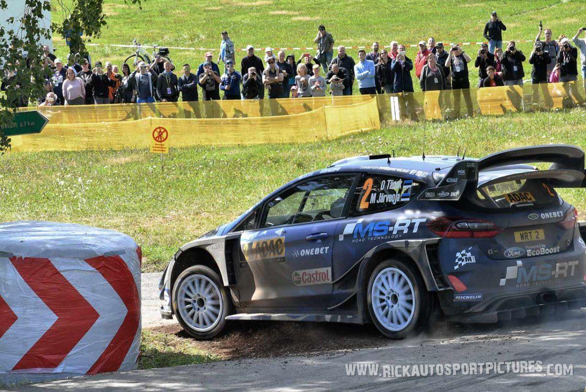 Ott Tänak Deutschland Rally 2017