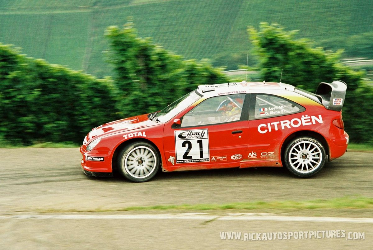 Sebastien Loeb Deutschland Rally 2002