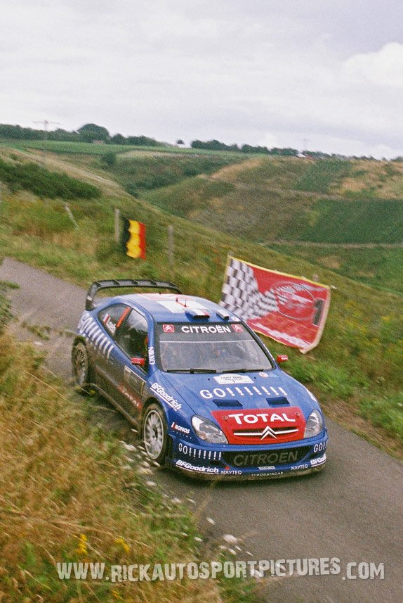 Sebastien Loeb Deutschland Rally 2006