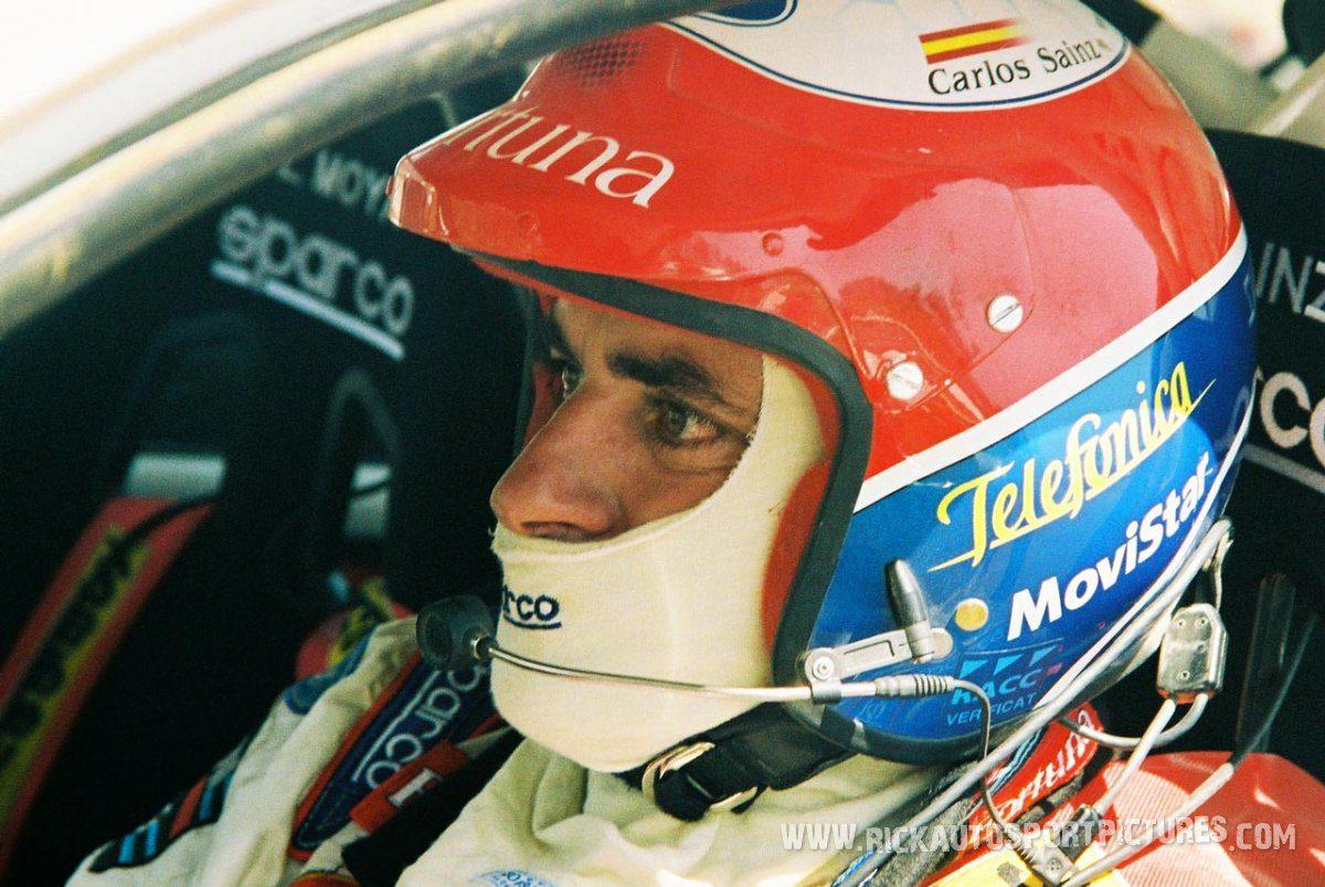 Carlos Sainz Cyprus 2001