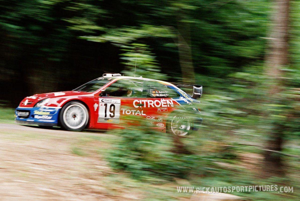 Carlos Sainz Deutschland Rally 2003