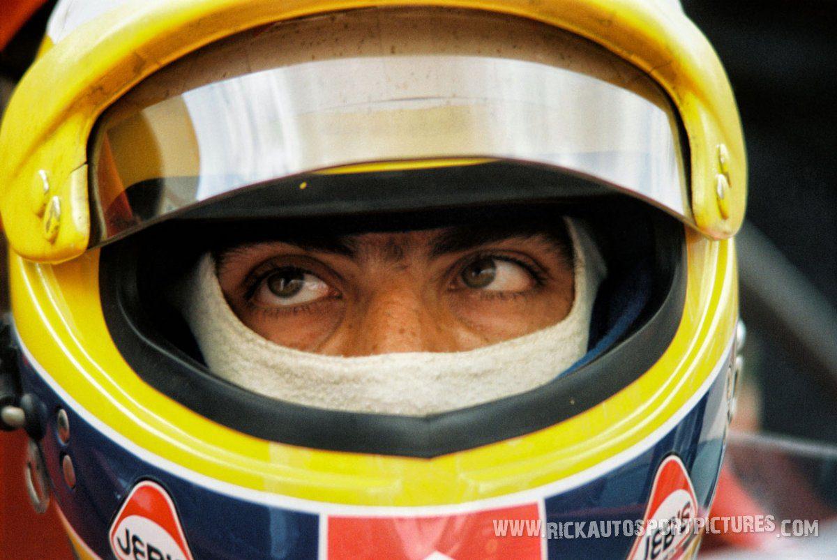 Michele Alboreto Silverstone 1987