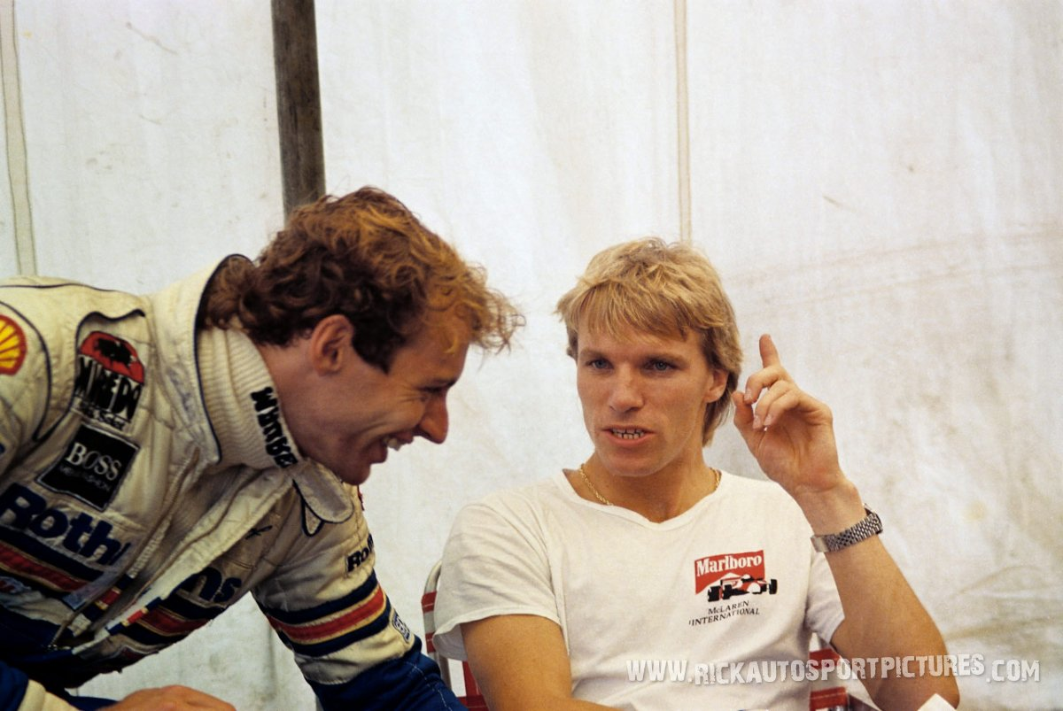 Stefan Johansson Zandvoort 1984