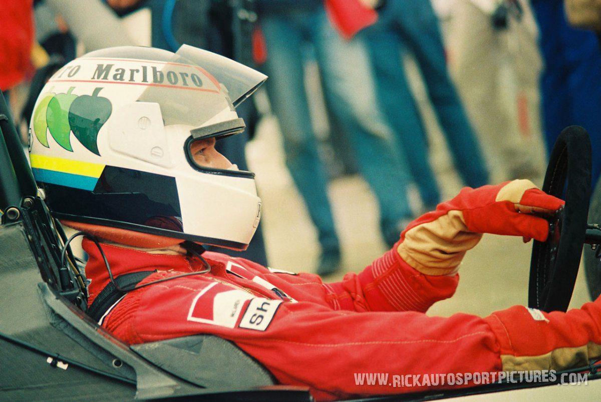 Stefan Johansson Silverstone 1987