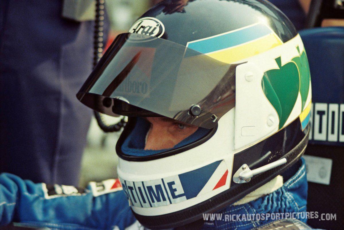 Stefan Johansson Zolder 1984