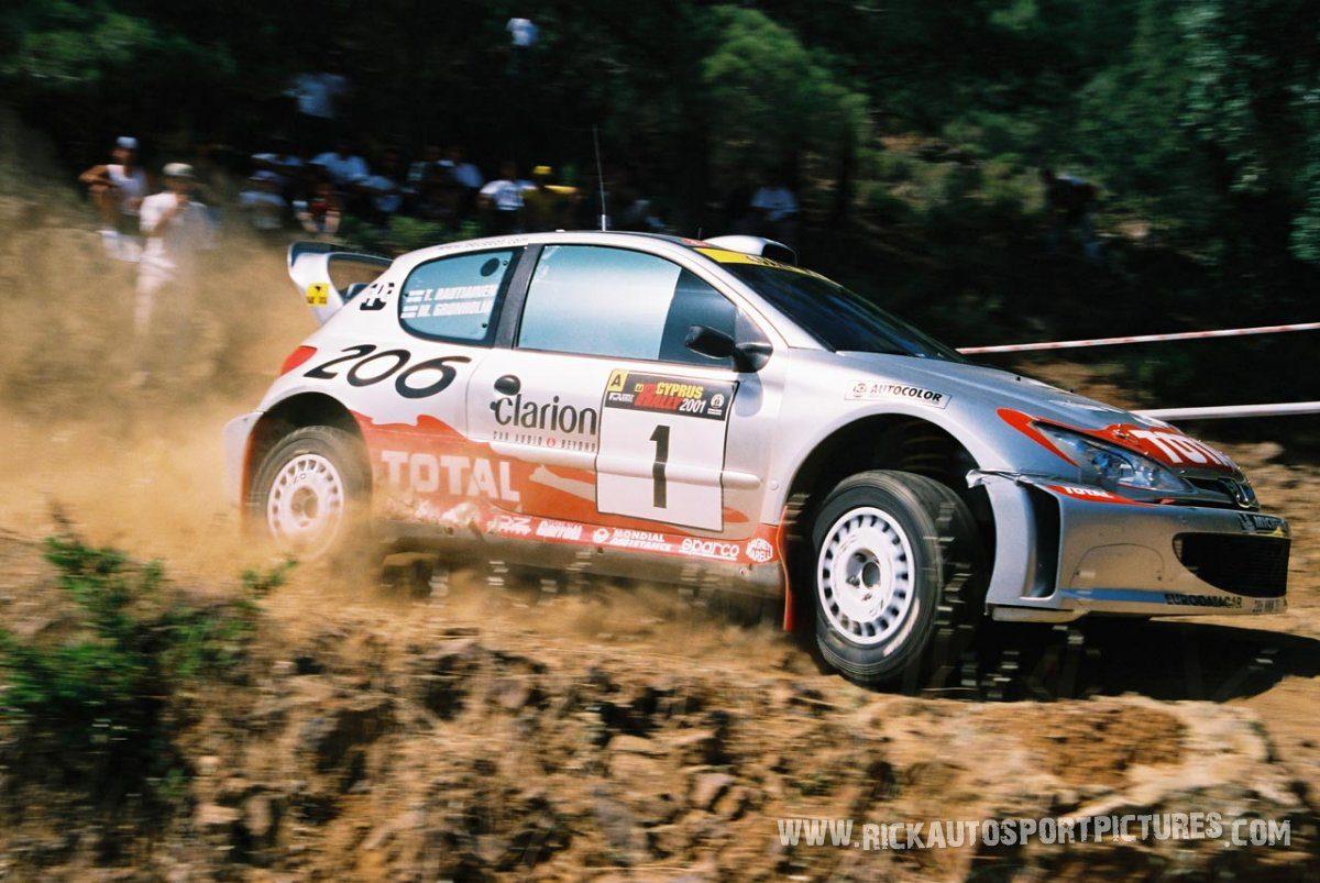 Marcus Grönholm Cyprus Rally 2001