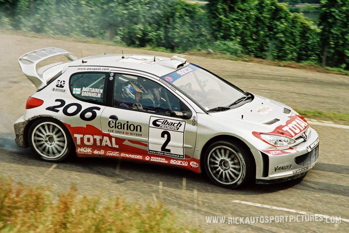 Marcus Grönholm Deutschland Rally 2002