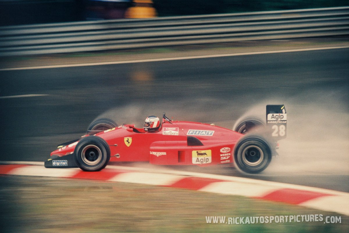 Gerhard Berger Spa 1988
