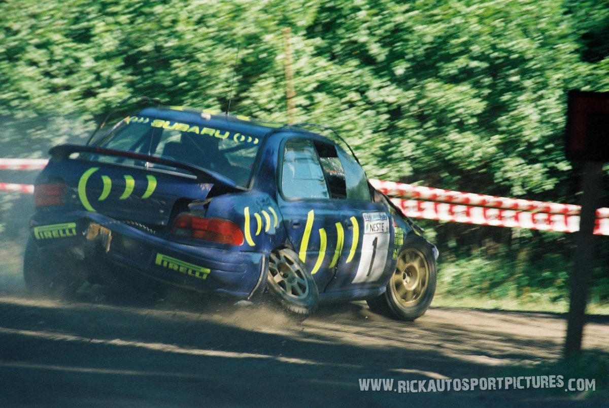 Colin McRae 1000 Lakes Rally 1996