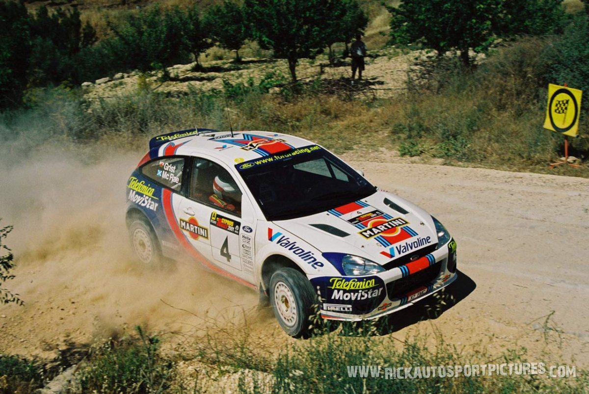 Colin McRae Rally Cyprus 2001