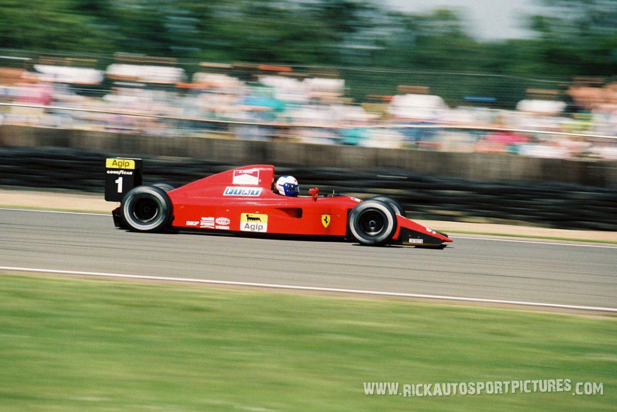 Alain Prost Silverstone 1990