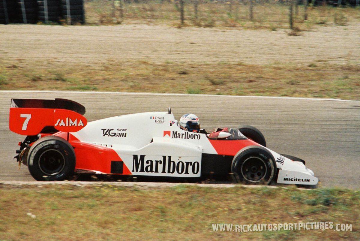 Alain Prost Zandvoort 1984