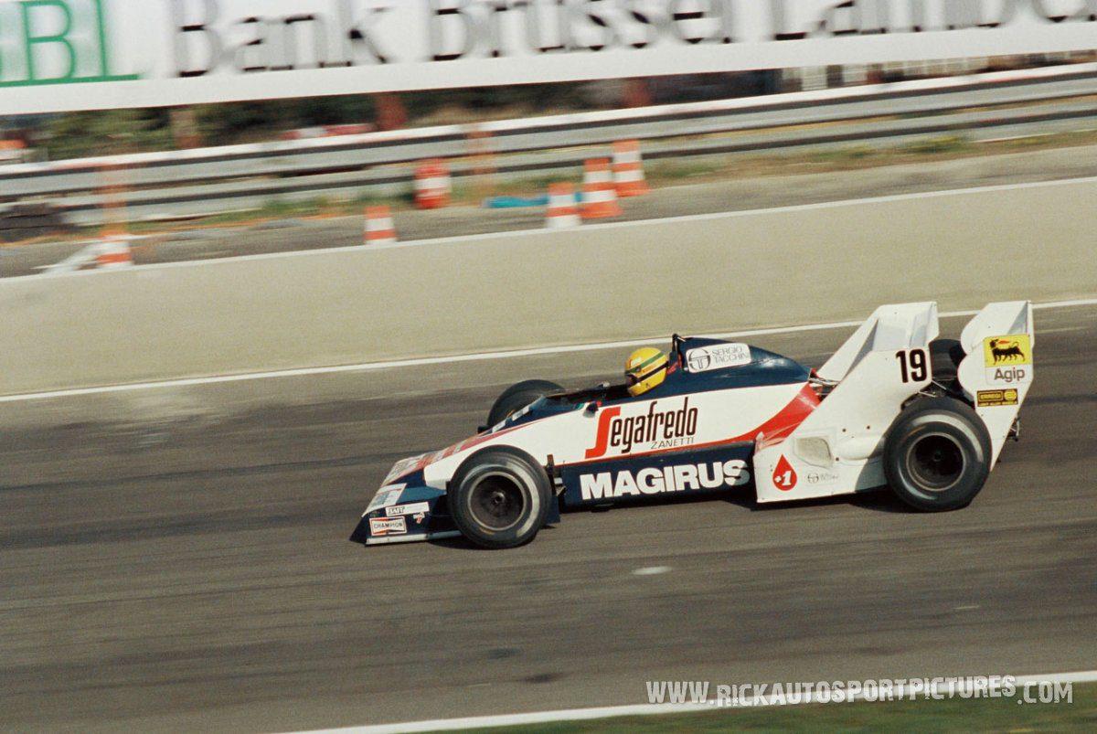 Ayrton Senna Zolder 1984