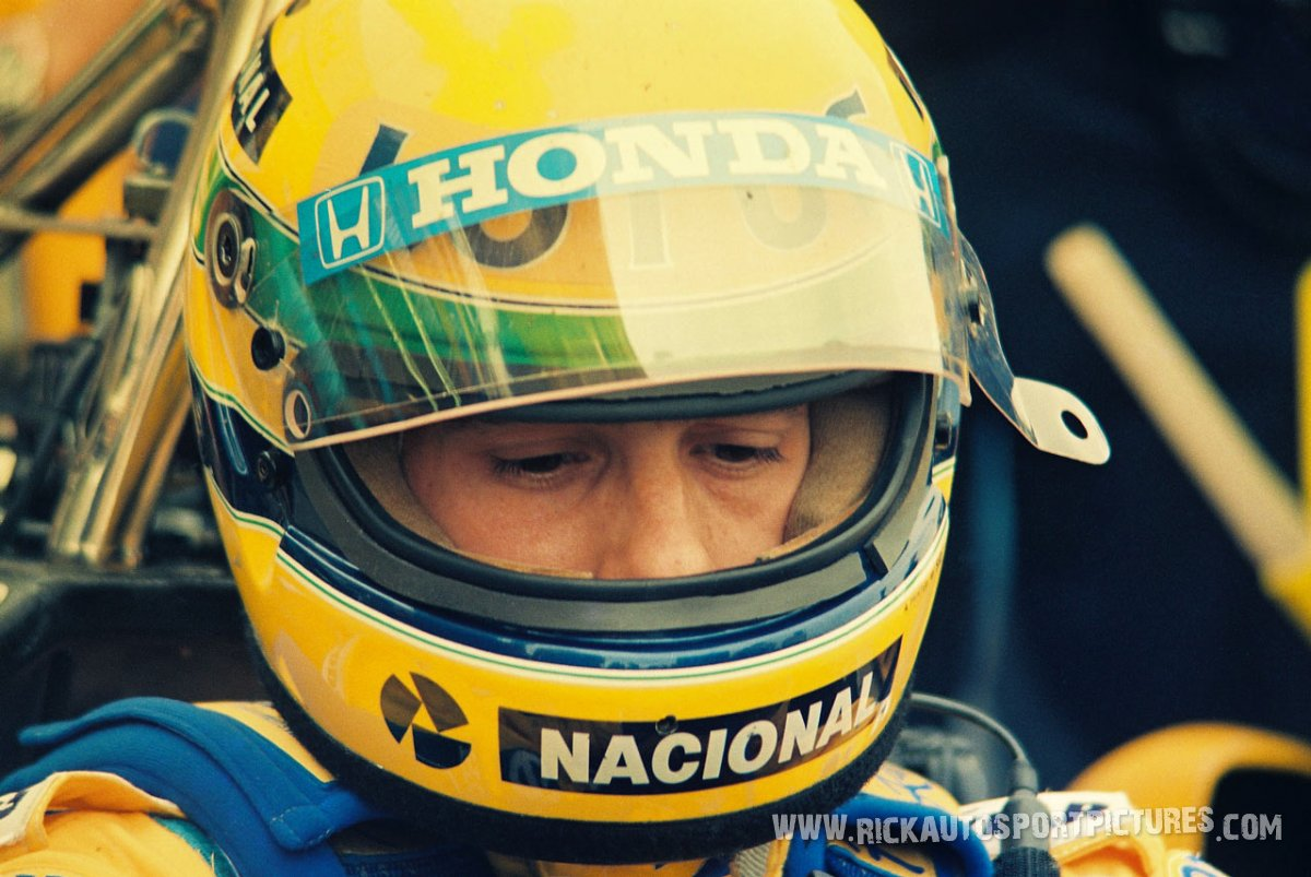 Ayrton Senna Silverstone 1987