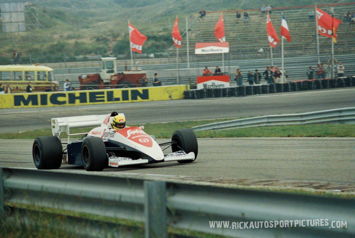 Ayrton Senna Zandvoort 1984