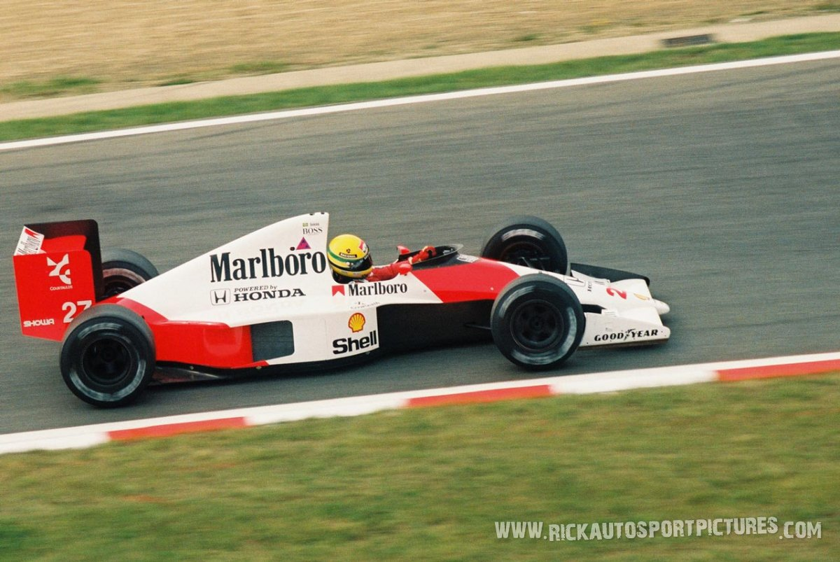 Ayrton Senna Spa 1990