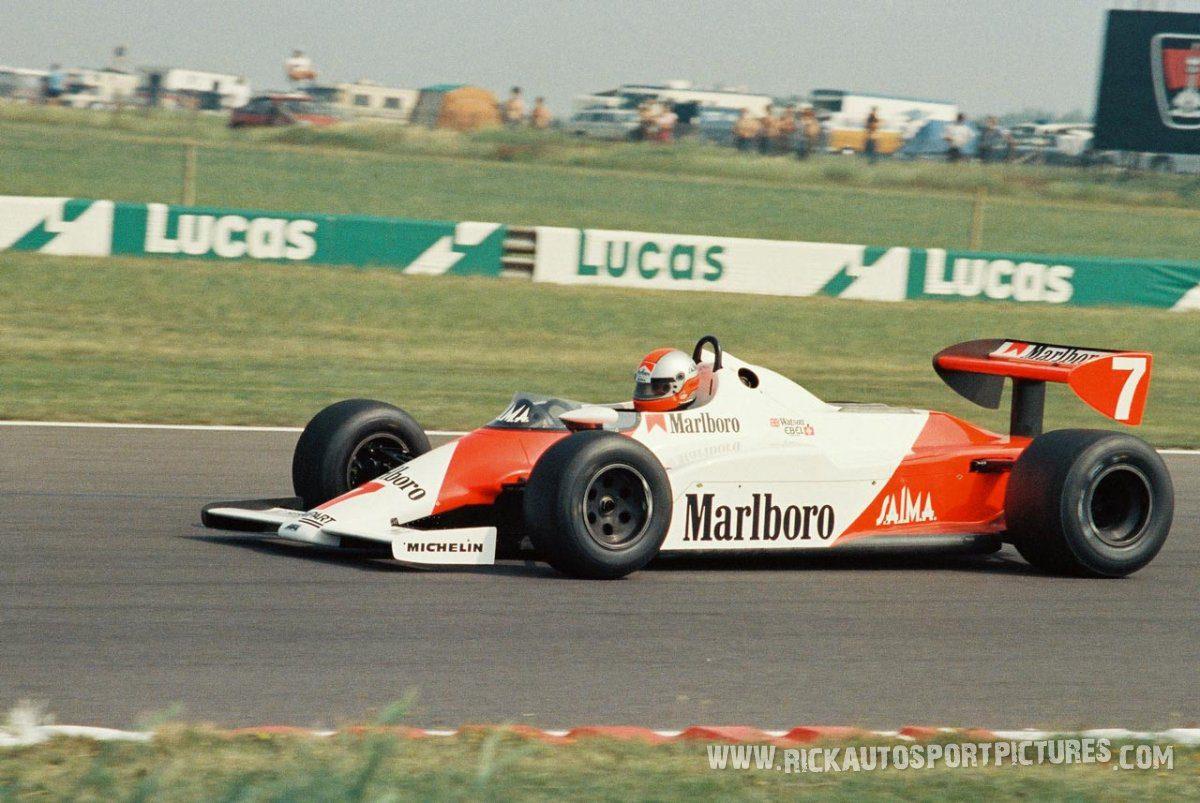 John Watson Silverstone 981