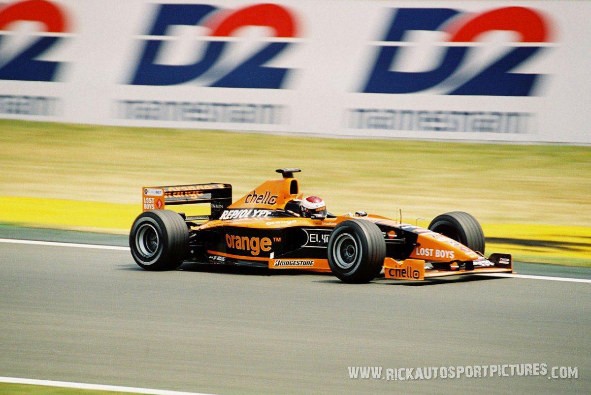 Jos Verstappen Magny Cours 2001