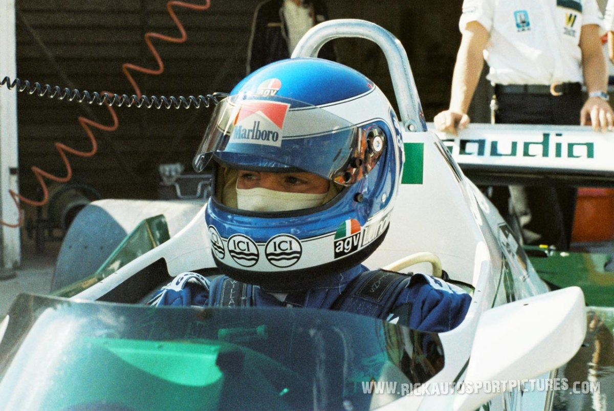 Keke Rosberg Brands Hatch 1982