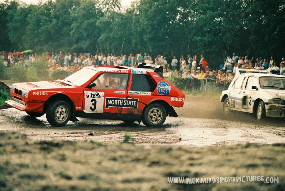 Matti Alamaki Rallycross 1987