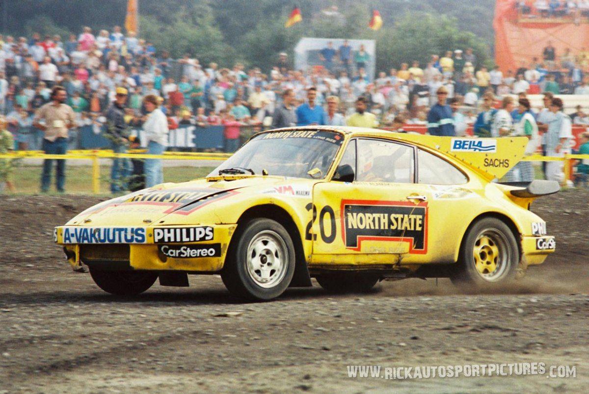 Matti Alamaki Porsche Rallycross 1986