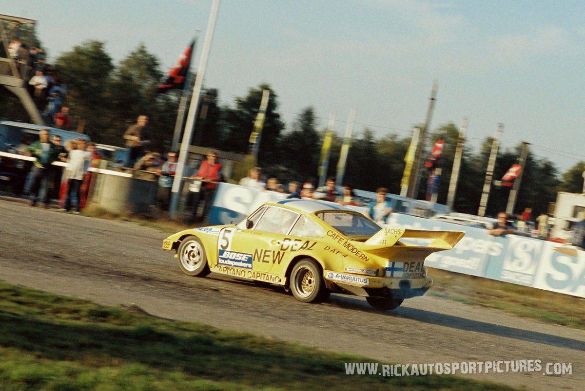 Matti Alamaki Porsche Rallycross 1985