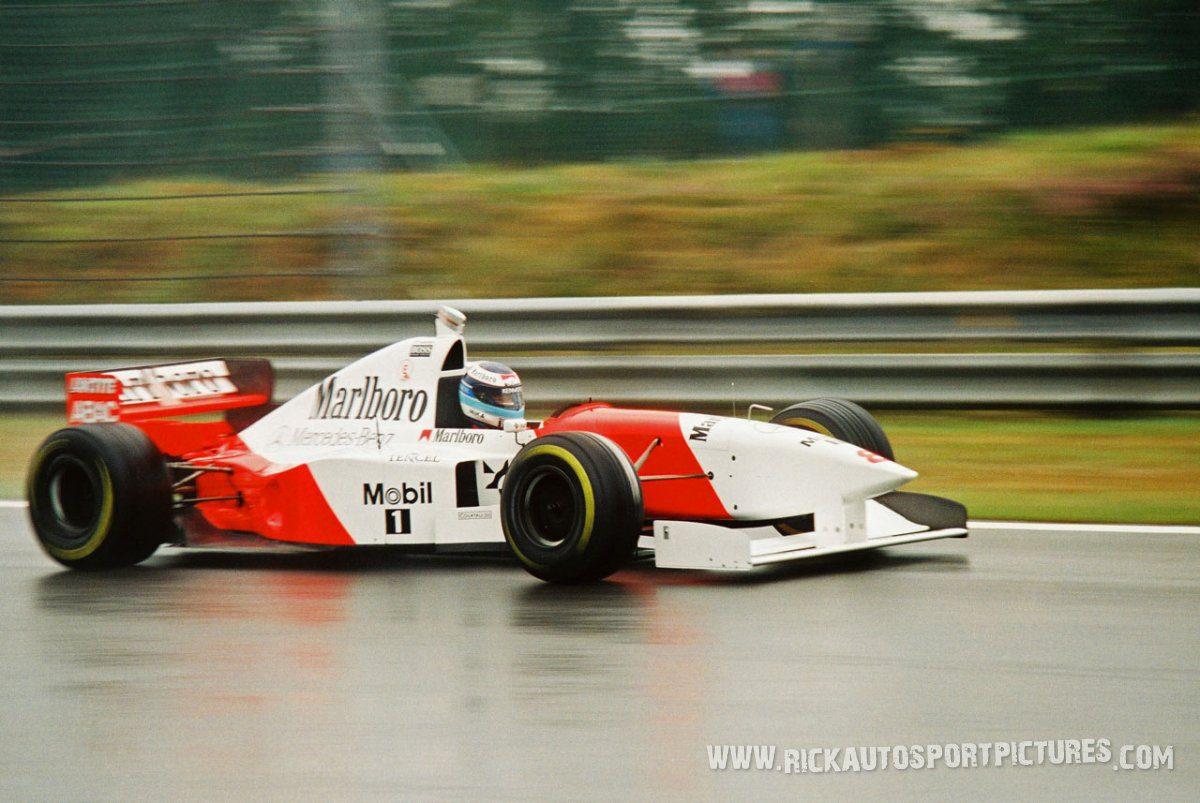 Mika Hakkinen McLaren 1995