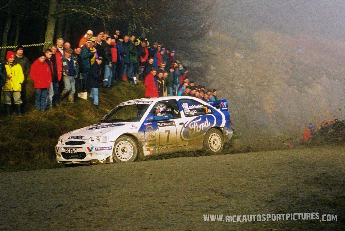 Juha Kankkunen RAC Rally 1998