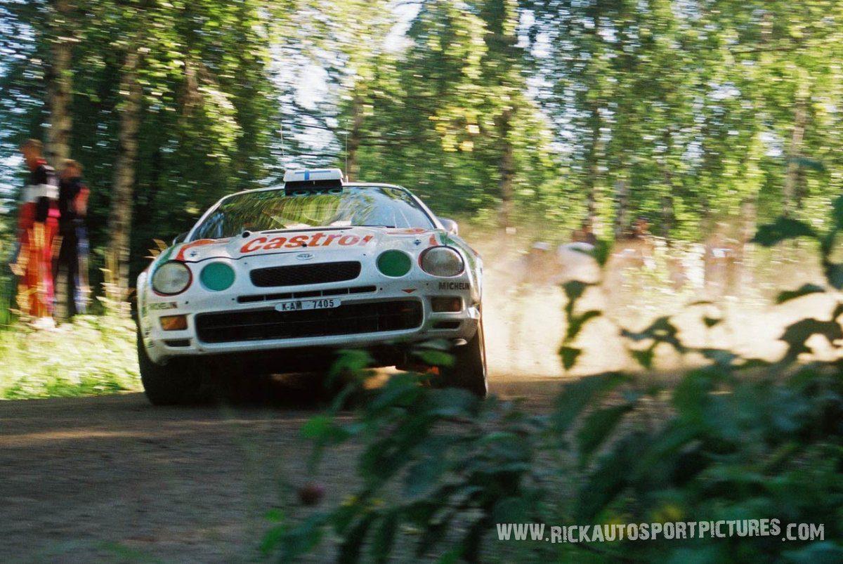 Juha Kankkunen 1000 Lakes Rally 1996