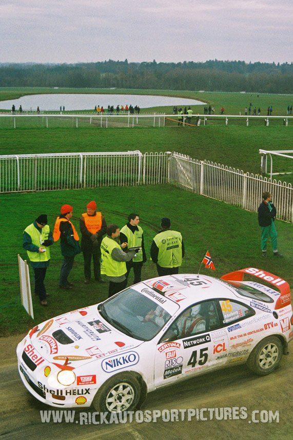 Petter Solberg RAC Rally 1996