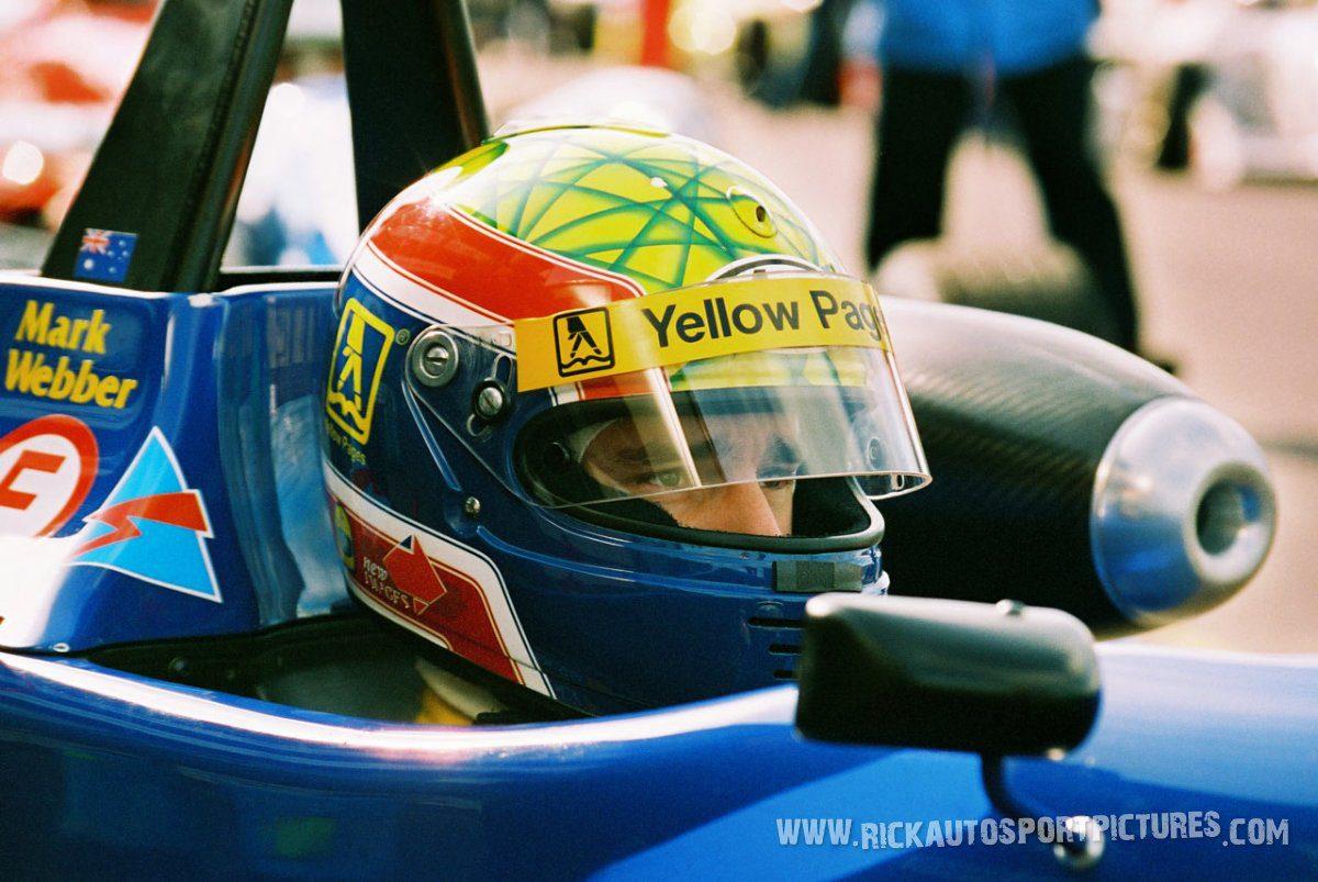 Mark Webber Silverstone 1997
