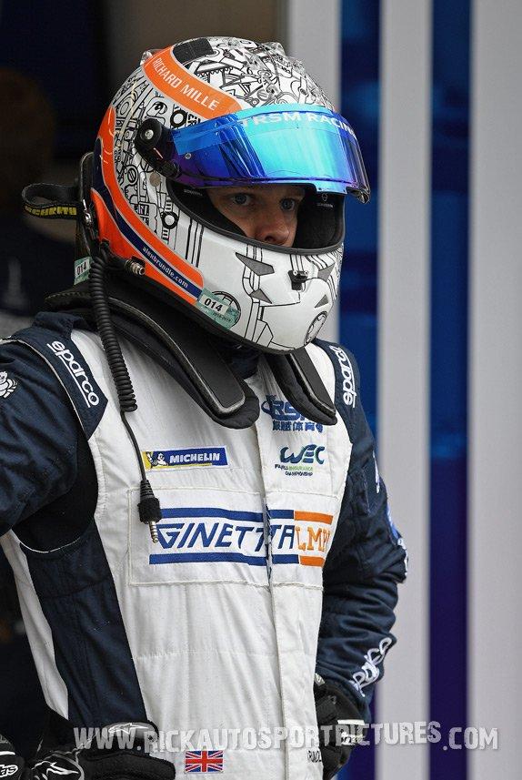 Alex Brundle Le Mans 2018
