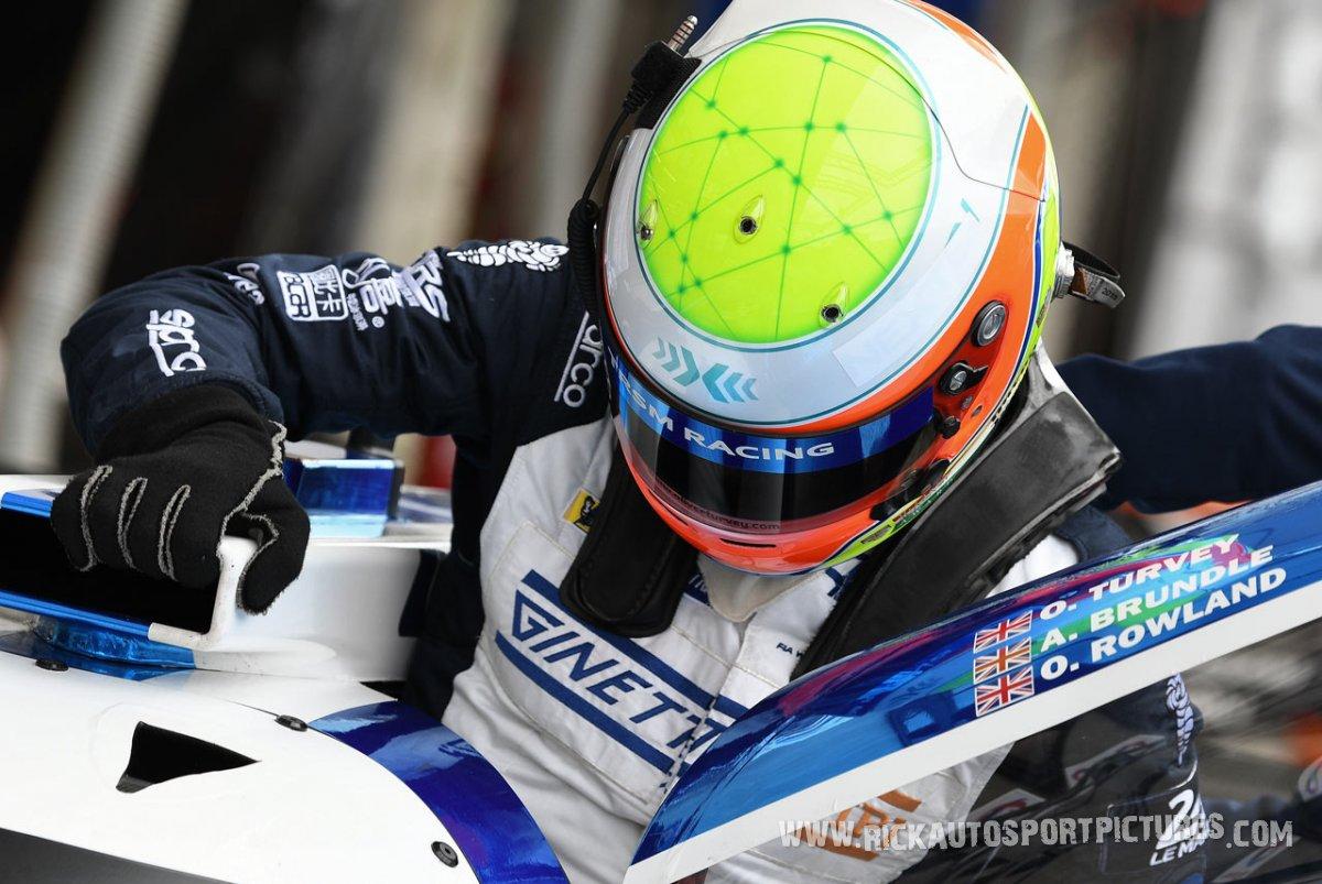 Oliver Turvey Le Mans 2018