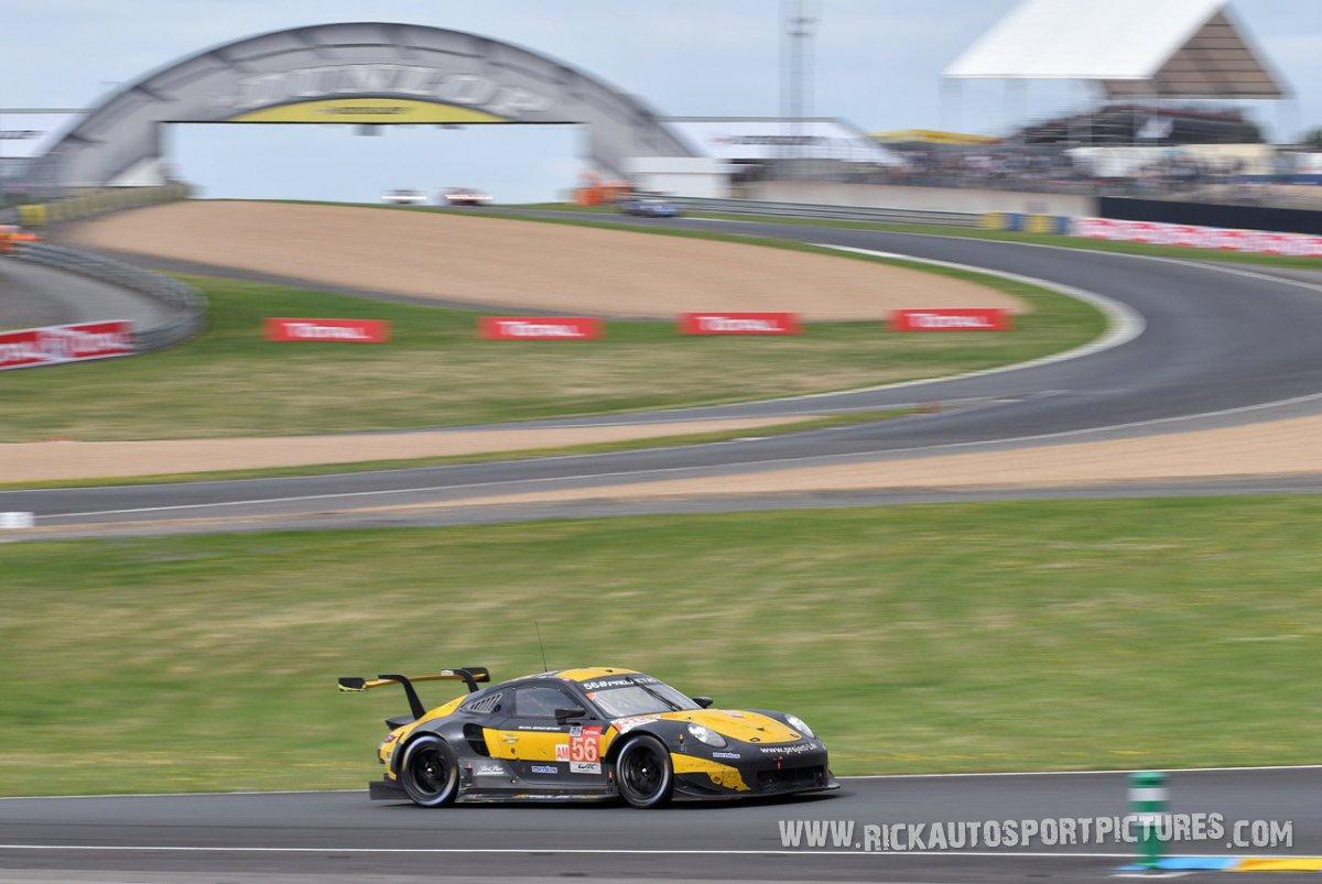 Team Project 1 Porsche le mans 2018