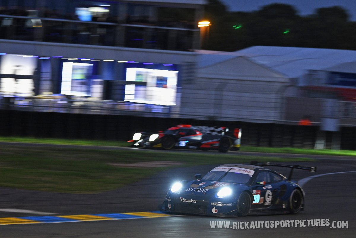 Ebimotors Porsche Le Mans 2018