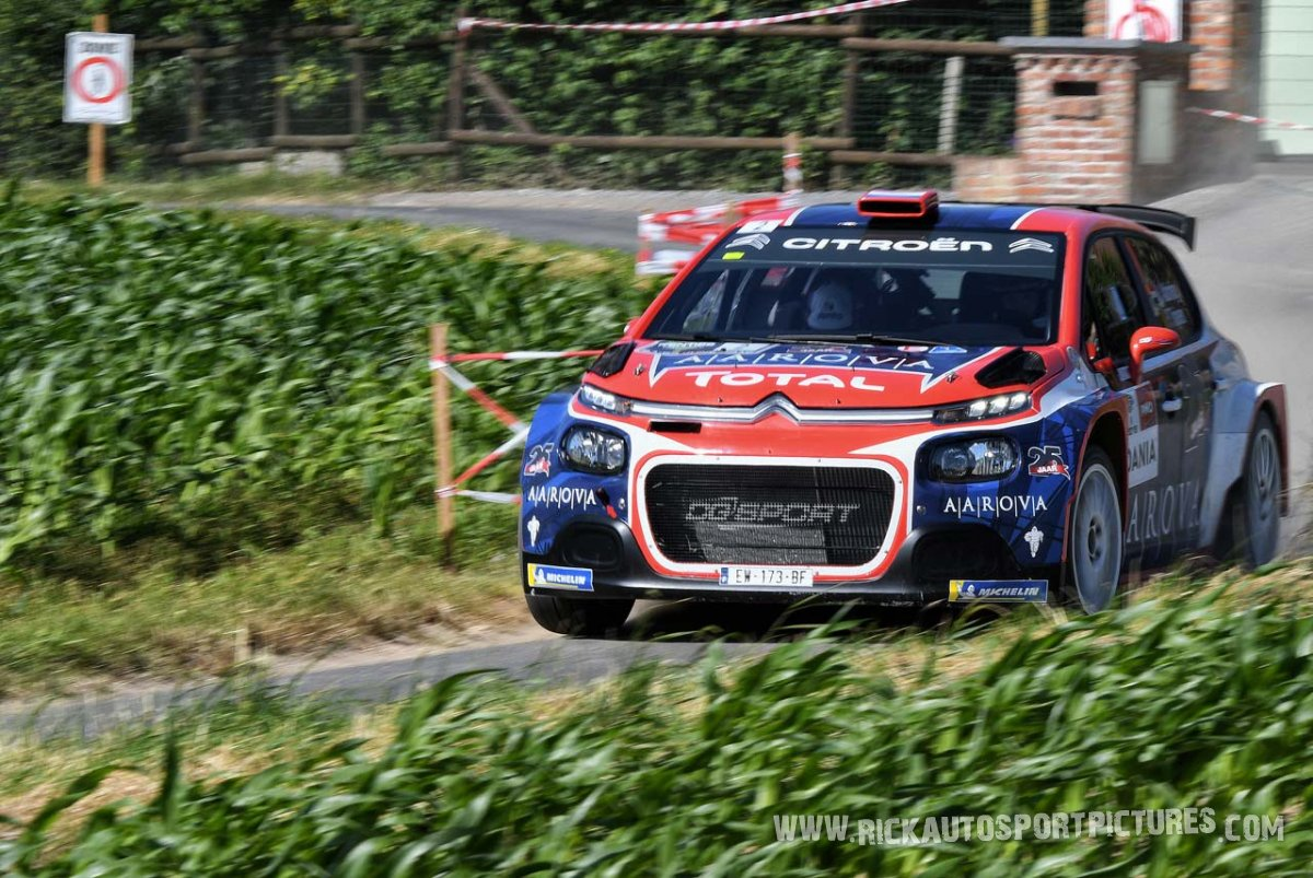 Kevin Abbring ypres ieper rally 2018