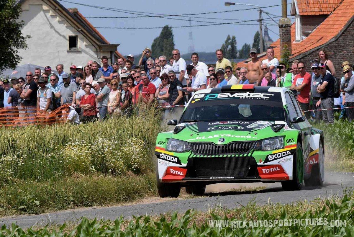 Sebastien Bedoret ypres ieper rally 2018