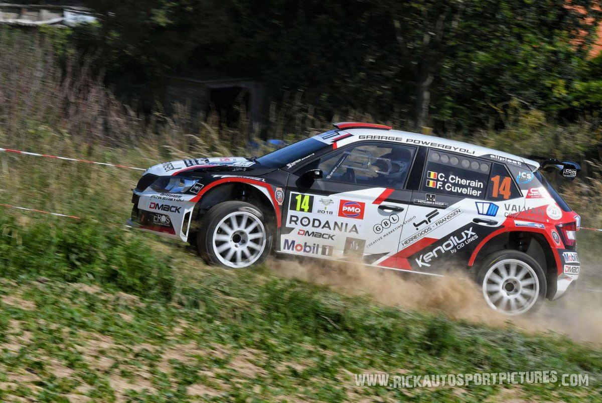 Cédric Cherain ypres ieper rally 2018