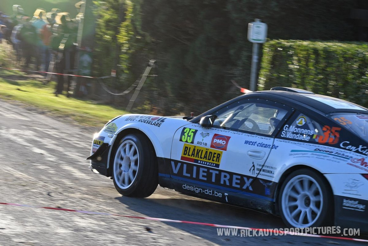 Gunther Monnens ypres ieper rally 2018